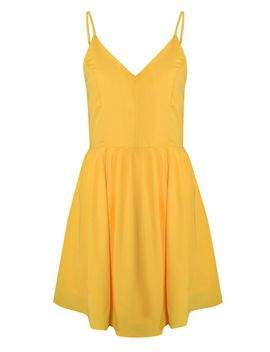 **Camisole Skater Dress By Glamorous Tall by Topshop