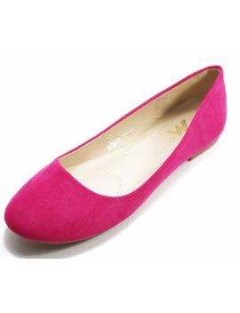 Women's Suede &Amp; Pu Leather Ballerina Ballet Flat Shoes Many Colors Available by Ebay Seller