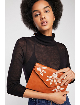 Alba Floral Envelope Clutch by Free People