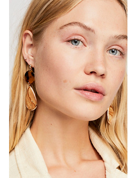 Resin Pendant Earring by Free People