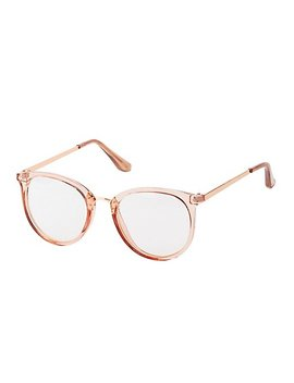 Round Faux Readers by Charlotte Russe