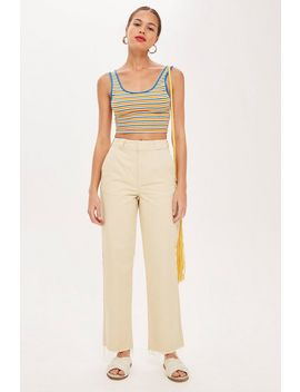Tall Straight Leg Chinos by Topshop