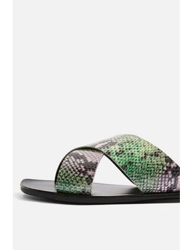 Snake Design Sandals by Topshop