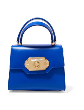 Welcome Small Leather Tote by Dolce & Gabbana