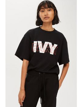 Layer Logo Oversized T Shirt By Ivy Park by Topshop