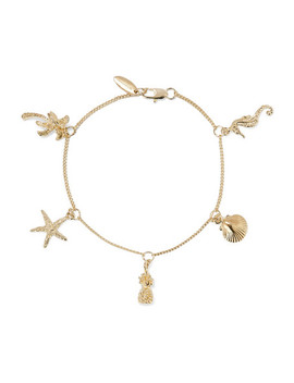 Tropical Charm Gold Plated Bracelet by Zimmermann