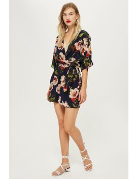 Floral Playsuit By Yas by Topshop