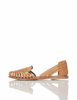 Find Women's Woven Leather Sandals by
