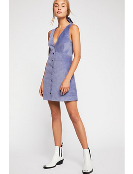 Rolling Thunder Cord Mini Dress by Free People