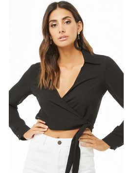 Wrap Crop Top by Forever 21