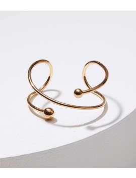 Twist Ball Cuff by Loft
