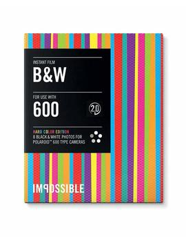 Impossible Instant Bw 2.0 Screen Protector Film For 600 Series Hard Color Frame, Limited Edition, Black by Amazon