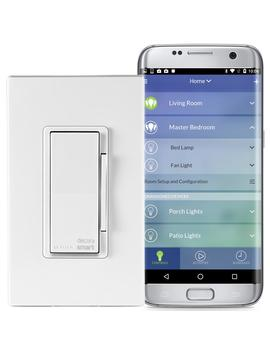 Decora Smart Wi Fi 600 W Incandescent/300 W Led Dimmer, No Hub Required, Works With Alexa, Google Assistant And Nest by Leviton