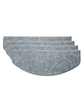 15 Pcs Adhesive Carpet Stair Treads Mats Pad Staircase Non Slip Step Rug Cover by Ebay Seller