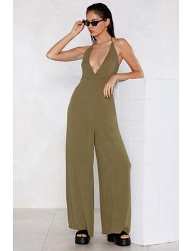 Let's Take A Wide Leg Jumpsuit by Nasty Gal