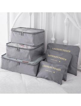 6 Pcs Travel Luggage Organizer Clothes Underwear Socks Packing Cube Storage Bag by Ebay Seller