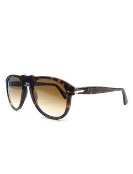 Sunglasses Persol Sunglasses Po0649 Havana Brown Faded Crystal 24/51 by Ebay Seller