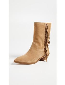 Krissa Fringe Western Boots by Rebecca Minkoff