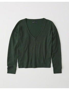 Cozy Knit Sweatshirt by Abercrombie & Fitch