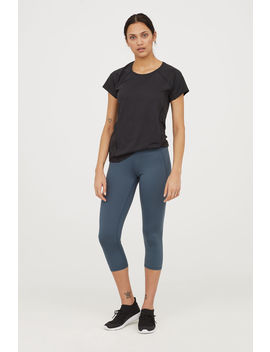 Sporttights In 3/4 Länge by H&M