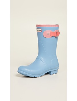 Original Short Colorblock Boots by Hunter Boots