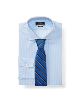 Slim Fit Striped Dobby Shirt by Ralph Lauren