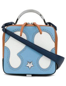 Colour Block Crossbody Bag by The Volon