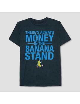 Men's Arrested Development There's Always Money In The Banana Stand Short Sleeve T Shirt   June Iris by Hybrid Apparel
