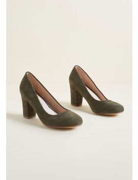 Timeless Accent Heel by Modcloth