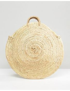 Rock N Rose Vienna Straw Woven Shopper Bag by Rock N Rose