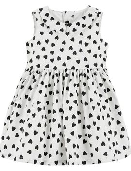 Heart Bow Holiday Dress by Carter's