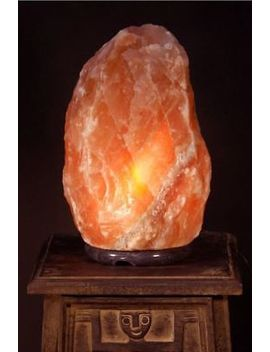 Himalayan Pink Salt Lamp Natural Rock Salt Lamps With Plug &Amp; Bulb Different Size by Ebay Seller