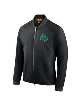 Boston Celtics City Edition Nike Modern Men's Nba Varsity Jacket. Nike.Com Gb by Nike