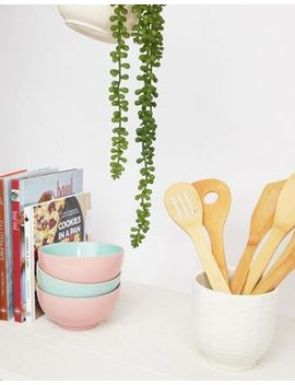 Mimo By Premier Set Of 6 Bamboo Kitchen Utensils by Asos