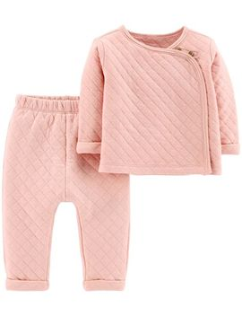 2 Piece Quilted Heather Top &  Pant Set by Carter's