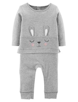 Bunny Coveralls by Carter's