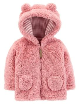Zip Up Sherpa Jacket by Carter's