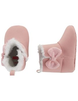 Carter's Bow Boots Baby Shoes by Carter's