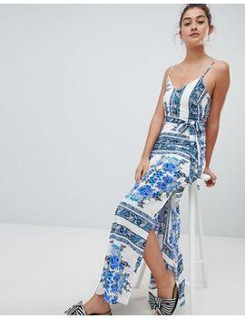 Parisian Printed Cami Maxi Dress by Parisian