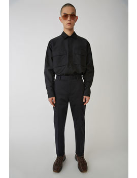 Chino Trousers Black by Acne Studios