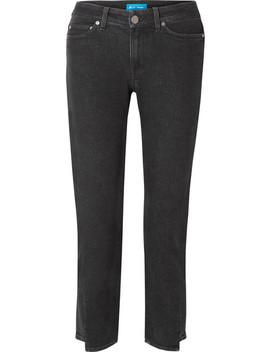 Niki Cropped High Rise Slim Leg Jeans by M.I.H Jeans