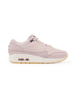 Air Max 1 Si Leather And Mesh Sneakers by Nike