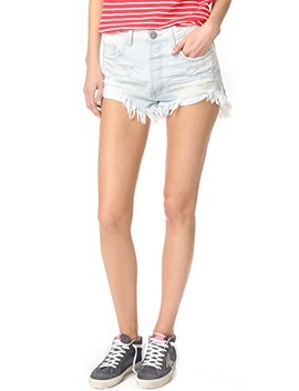 Le Surf Outlaw Shorts by One Teaspoon