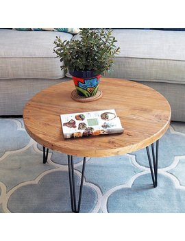 Foundry Select Cornelius Old Elm Rustic Coffee Table & Reviews by Foundry Select
