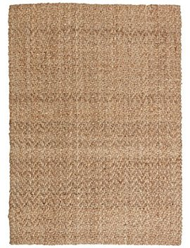 Stone & Beam Contemporary Textured Jute Rug, 5' X 7', Tan by Stone & Beam