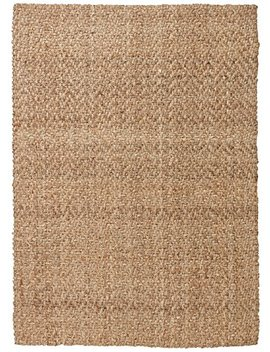 Stone & Beam Contemporary Textured Jute Rug, 8' X 10', Tan by Stone & Beam