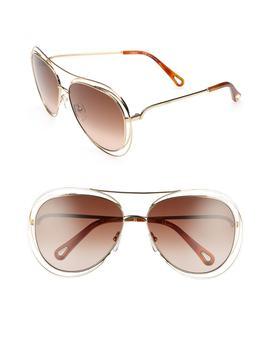61mm Aviator Sunglasses by ChloÉ
