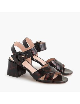 Tortoise Penny Sandals by J.Crew