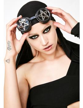 Witchy Woman Pentagram Goggles by Funk Plus