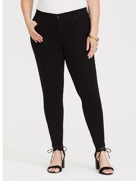 Premium Stretch Skinny Jean   Black Wash by Torrid